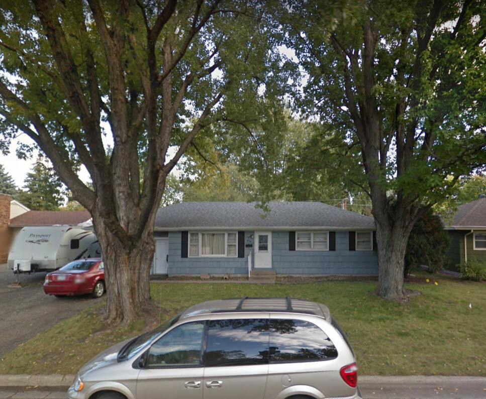 Mankato Minnesota boyhood home sad house