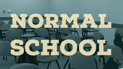 Normal School classroom noir academic mystery